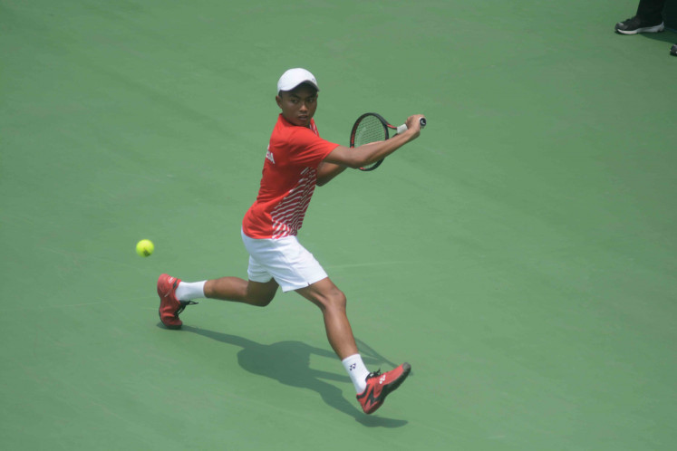 Lack of domestic competition weakens Indonesian men's tennis
