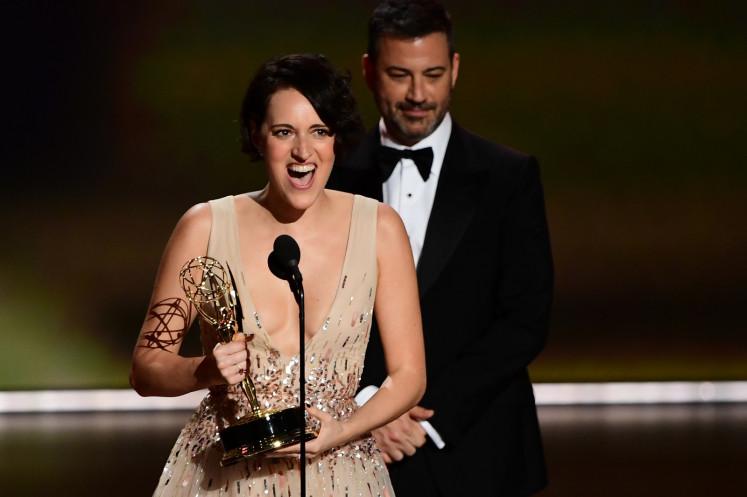 'Thrones' seeks final Emmys glory as 'Fleabag' springs surprise