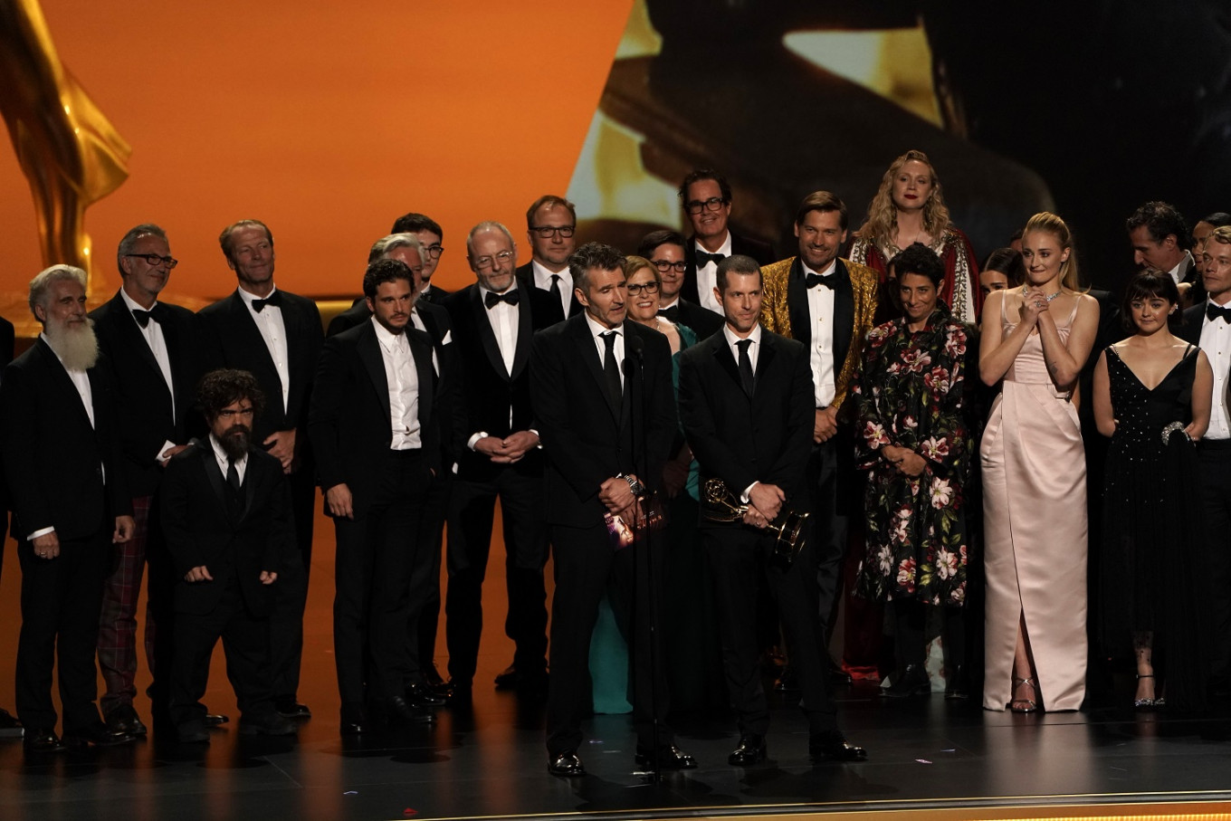 HBO leads Emmys with 34 new honors to tout in streaming wars