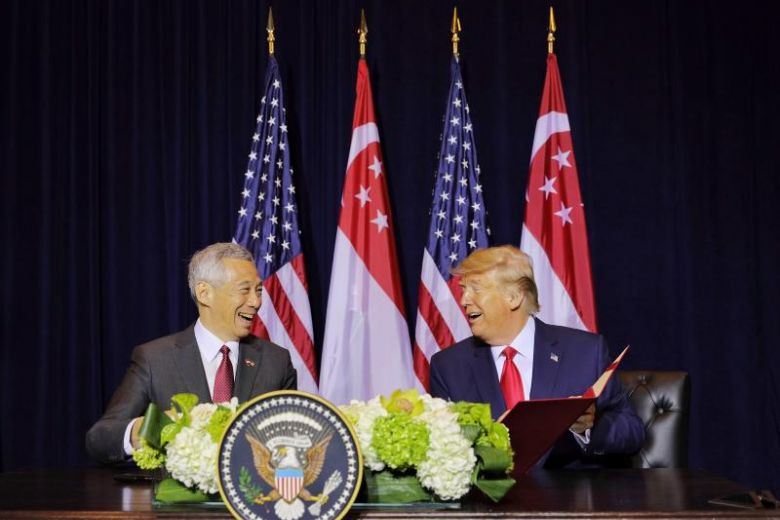 PM Lee, Trump renew key defence pact on US use of Singapore air, naval bases