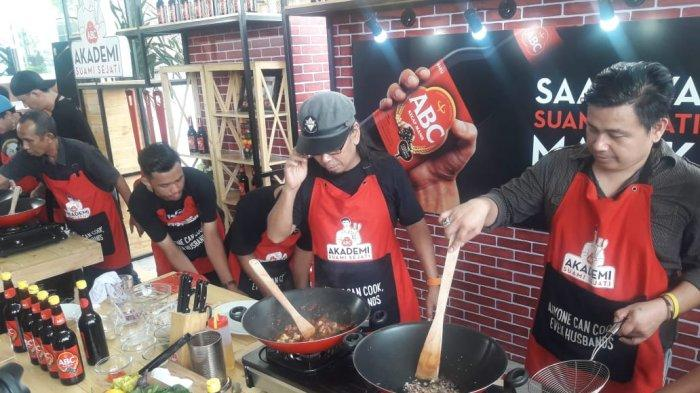 Boys in the kitchen: Students try their hand at cooking