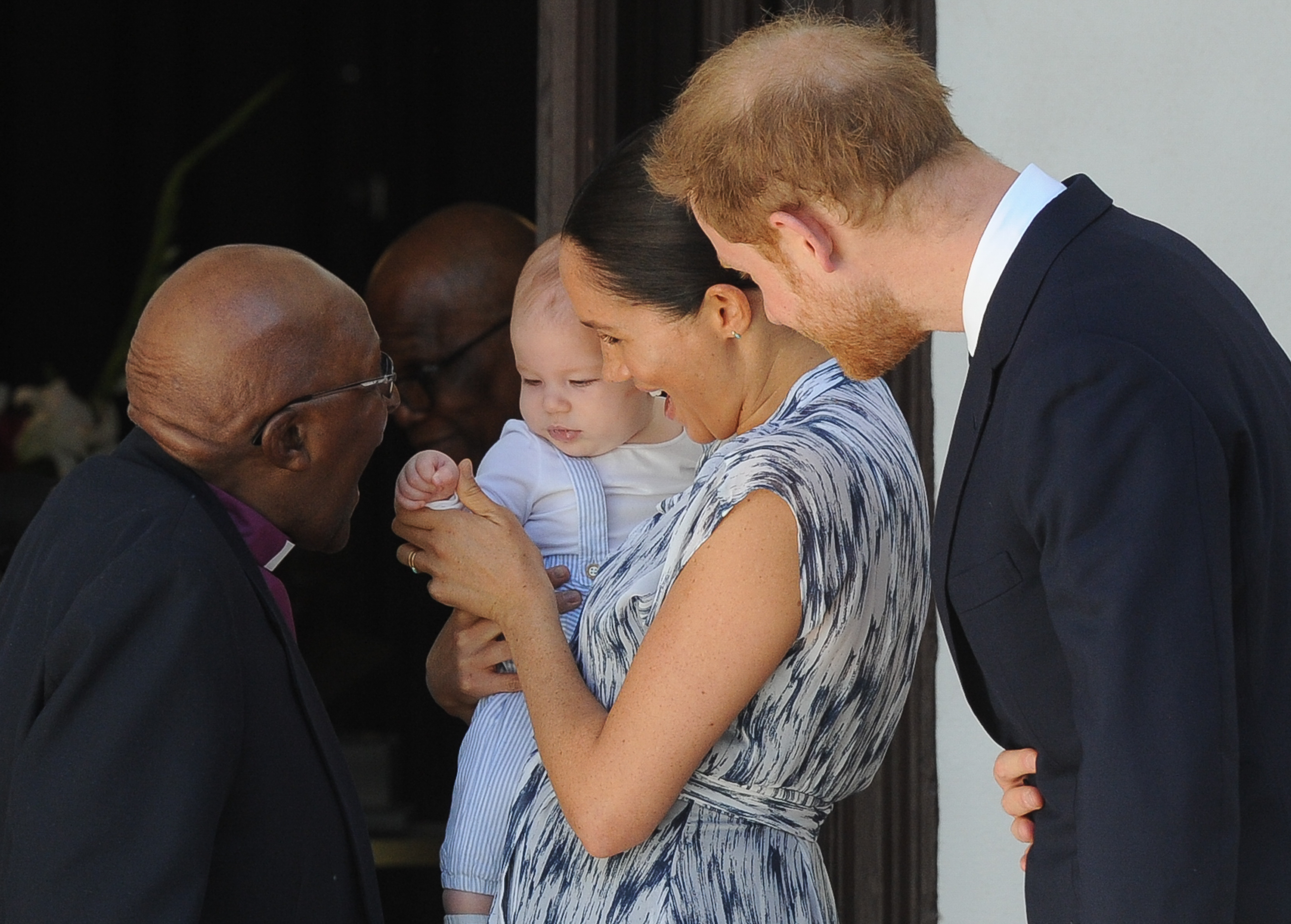 Royal baby Archie meets South Africa's Archbishop Tutu