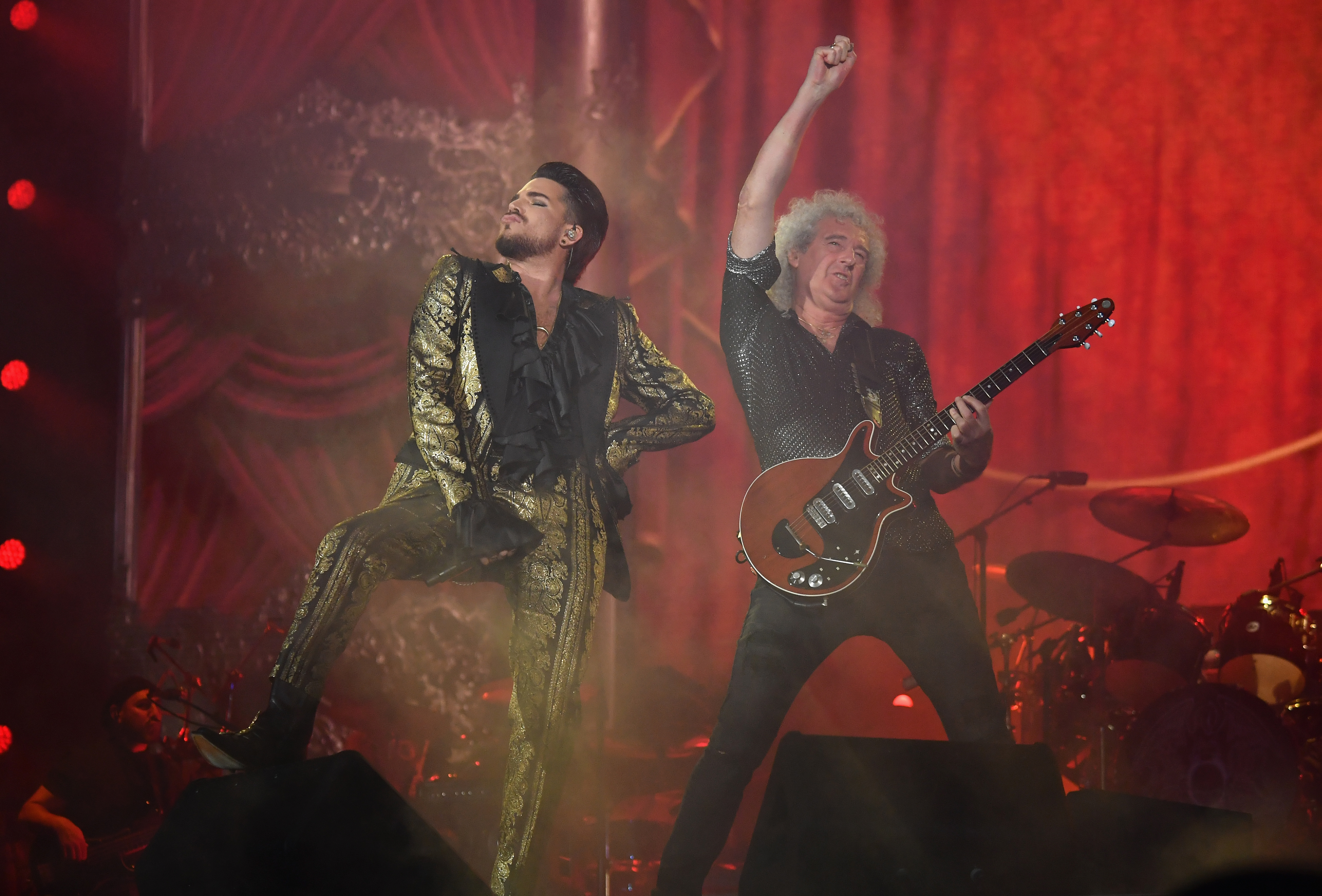 Queen and Adam Lambert rock festival urging foreign aid