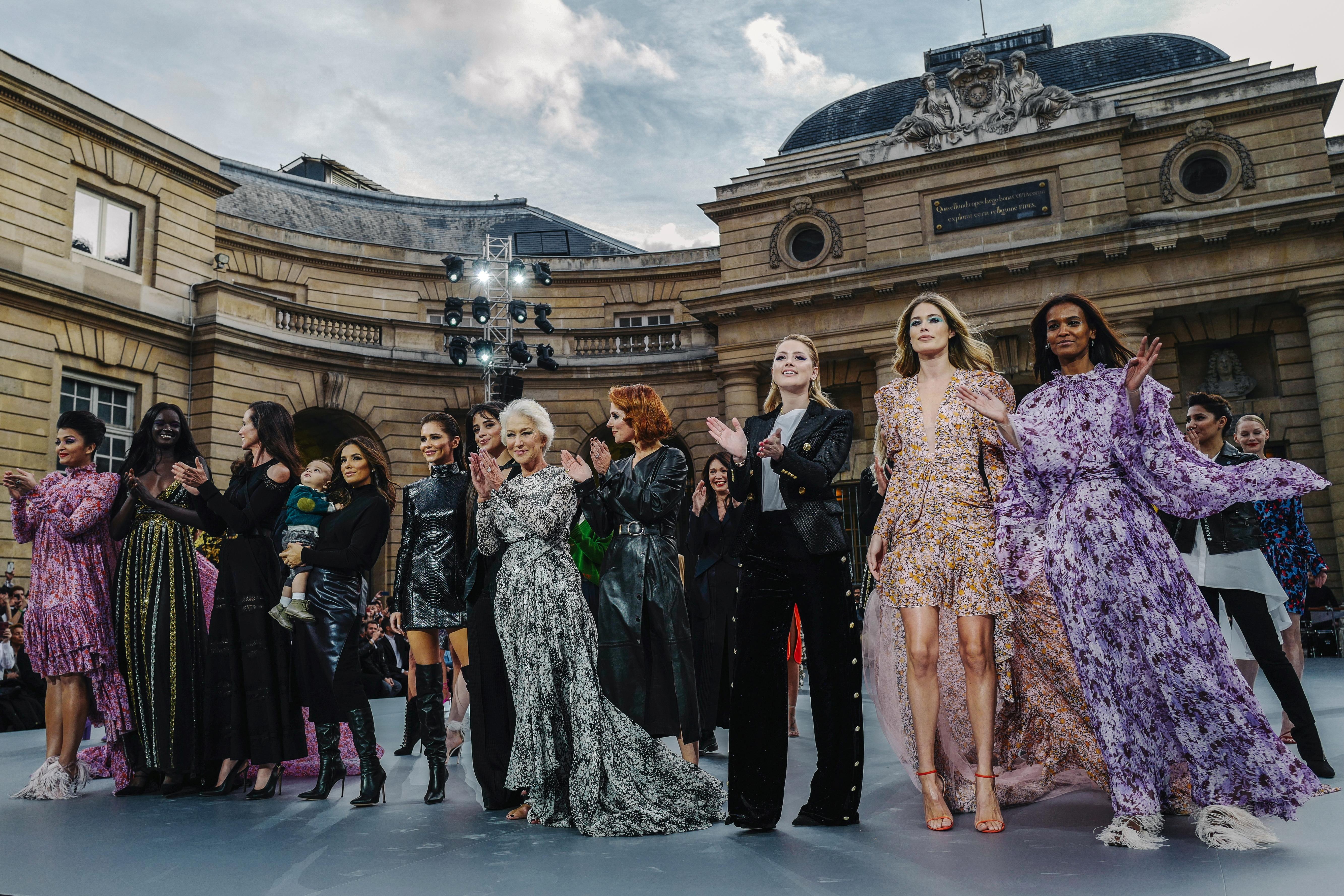 L'Oreal celebrates female empowerment with glamorous runway show