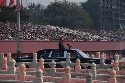 China marks 70th anniversary with military parade