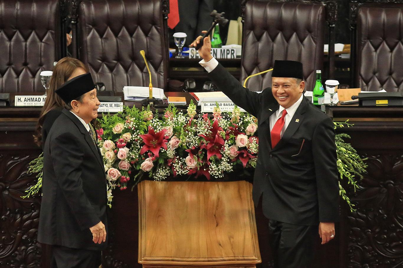 Bambang Soesatyo elected MPR speaker