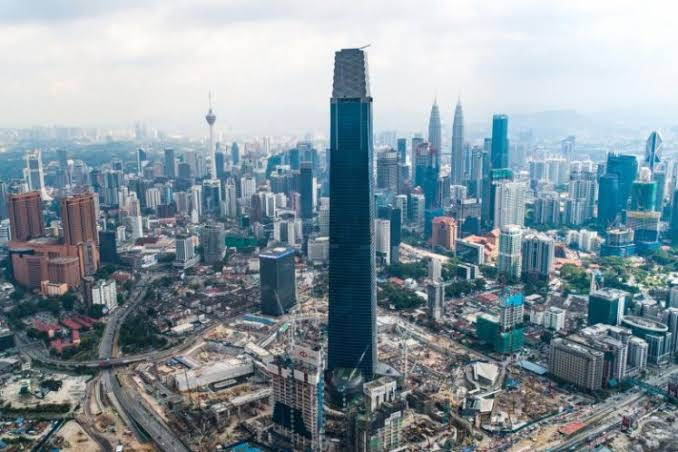 At 492m, Exchange 106 officially dethrones Petronas Twin Towers as Malaysia's tallest building