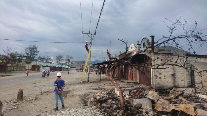Power back on in post-unrest Wamena: PLN