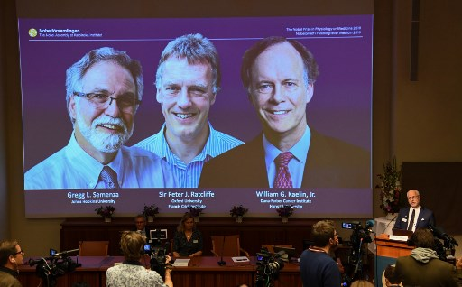 Peebles, Mayor and Queloz win 2019 Nobel Prize for physics