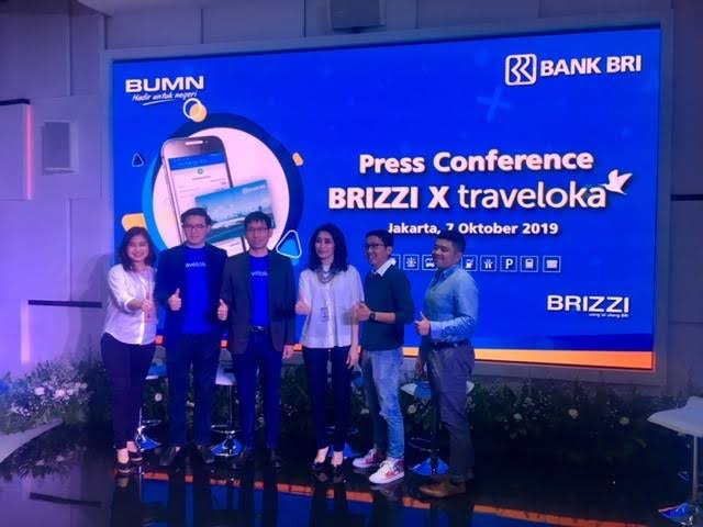 BRI teams up with Traveloka to offer Brizzi e-money card top-up service