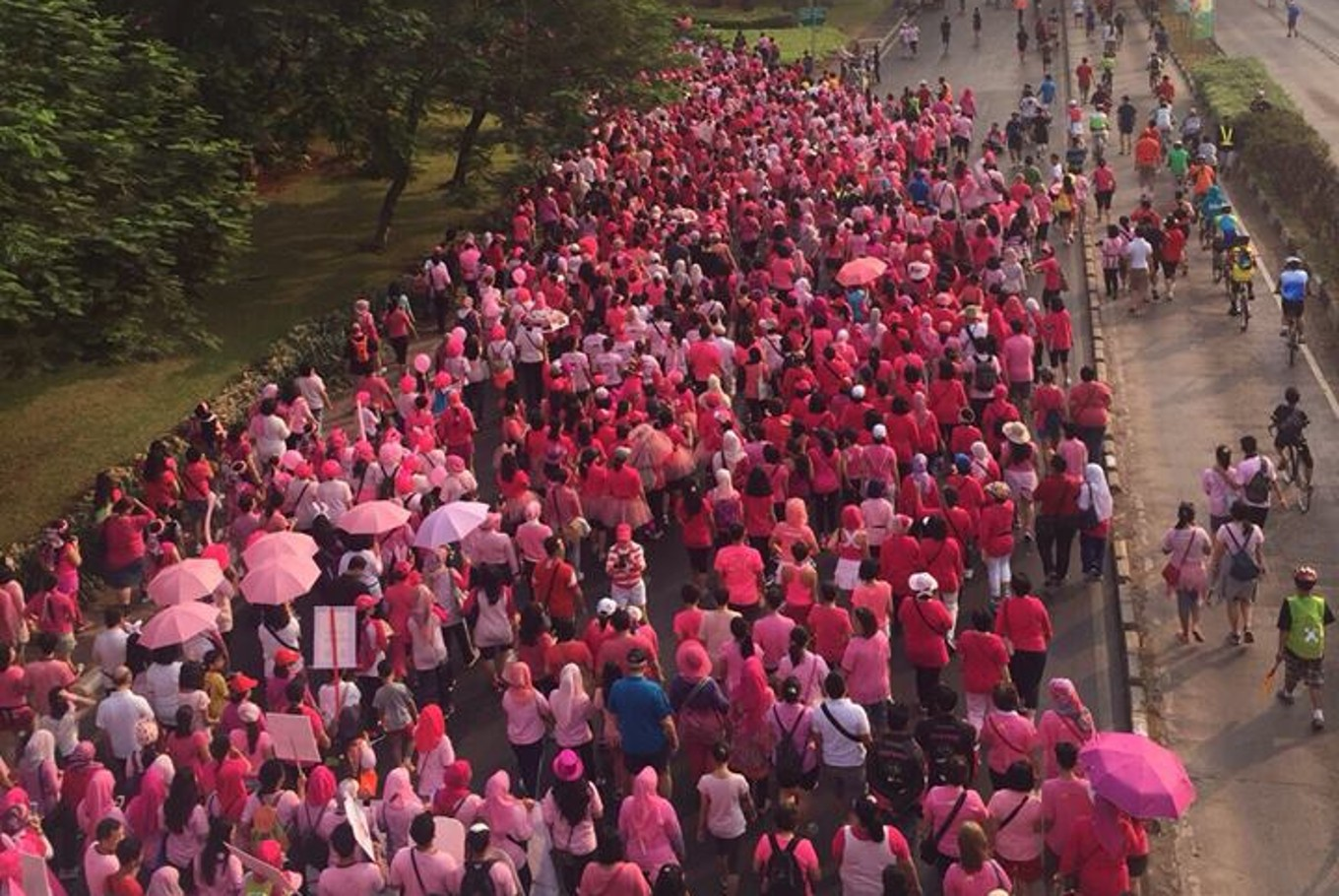 Breast Cancer Awareness Month: Pink Shimmerinc emphasizes the importance of self-exams