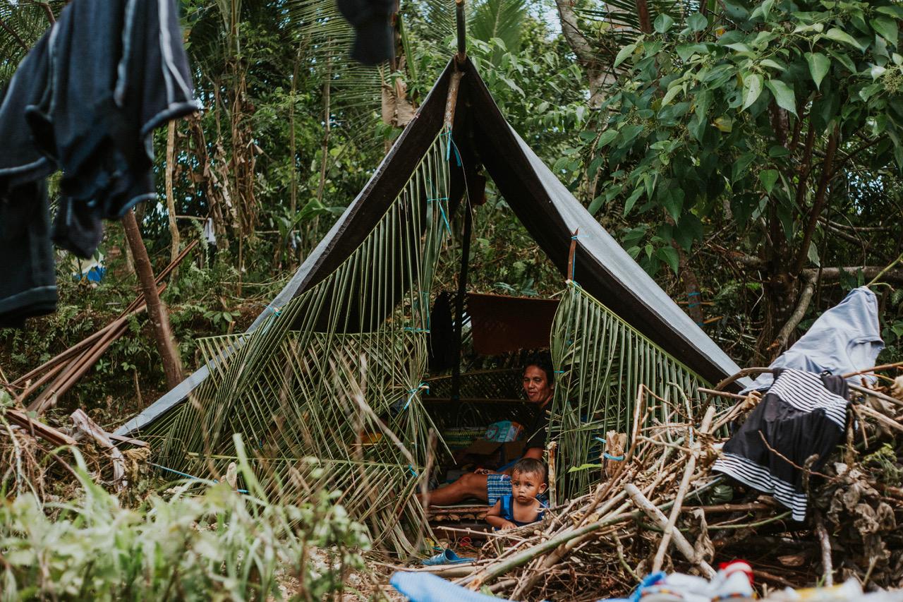 Fake tsunami warning drives Maluku quake victims to flee to mountains
