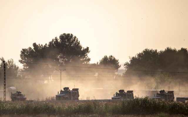 Turkey launches ground offensive against Kurdish forces in Syria