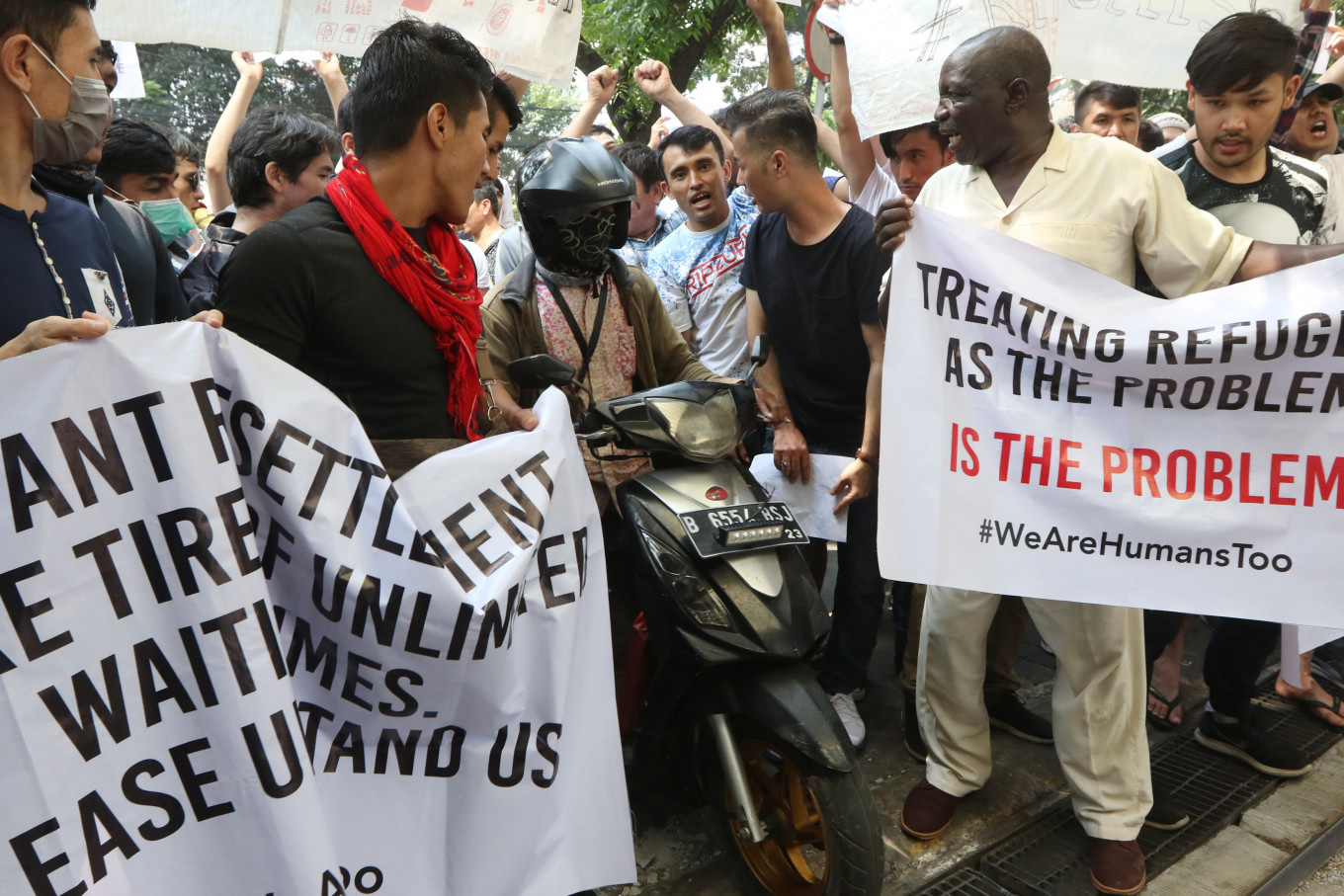 Protection for refugees in Indonesia: A state responsibility