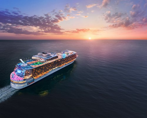 The Royal Caribbean has named the world's next biggest ocean liner, set for China