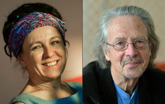 Olga Tokarczuk, Peter Handke win Literature Nobels