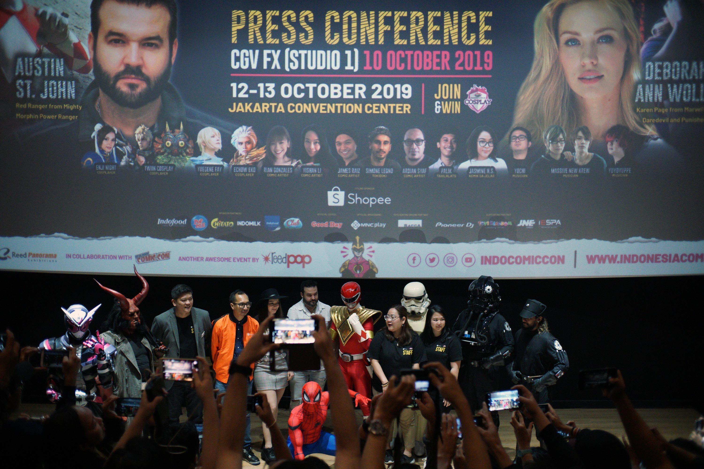 Red Ranger, Marvel's Karen Page to meet Indonesian fans