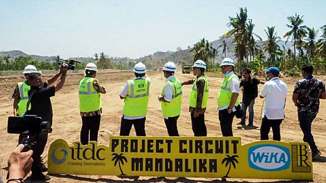 Mandalika MotoGP circuit 10 percent complete, on track to host race in 2021