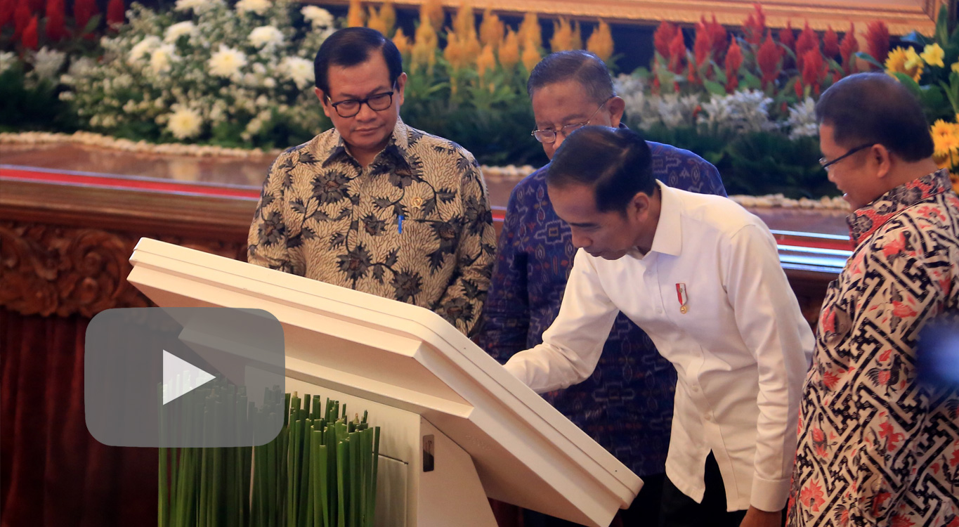 Jokowi calls for productive use of internet as Palapa Ring all set to connect In...