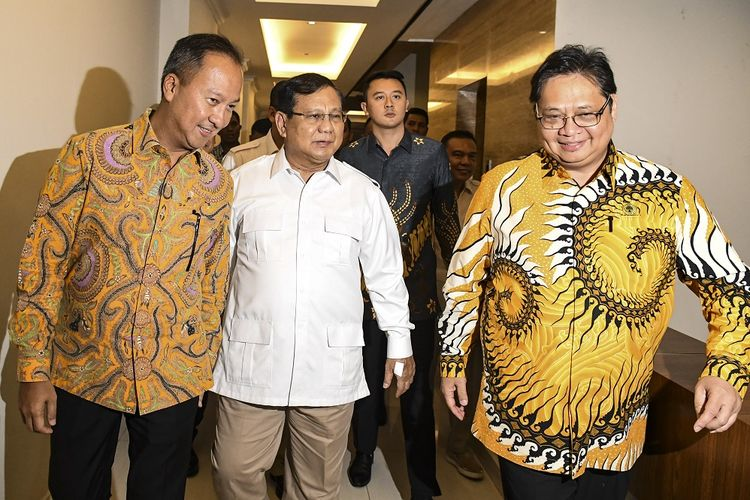 Gerindra, Golkar agree to maintain stability after Prabowo-Airlangga meeting