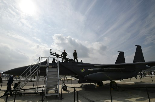 South Korea unveils fighter jet mock-up amid program challenges