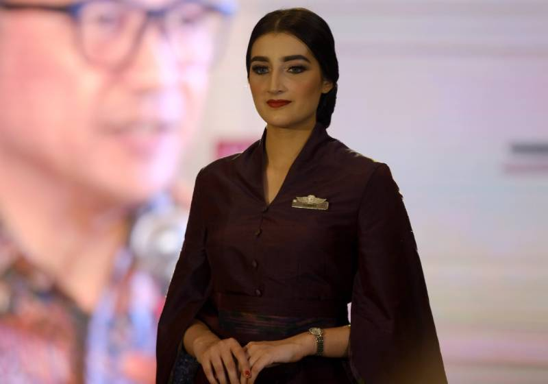 Garuda Indonesia unveils thematic uniform by Didiet Maulana