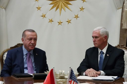 Turkey, US agree on ceasefire in Syria: US Vice President Pence