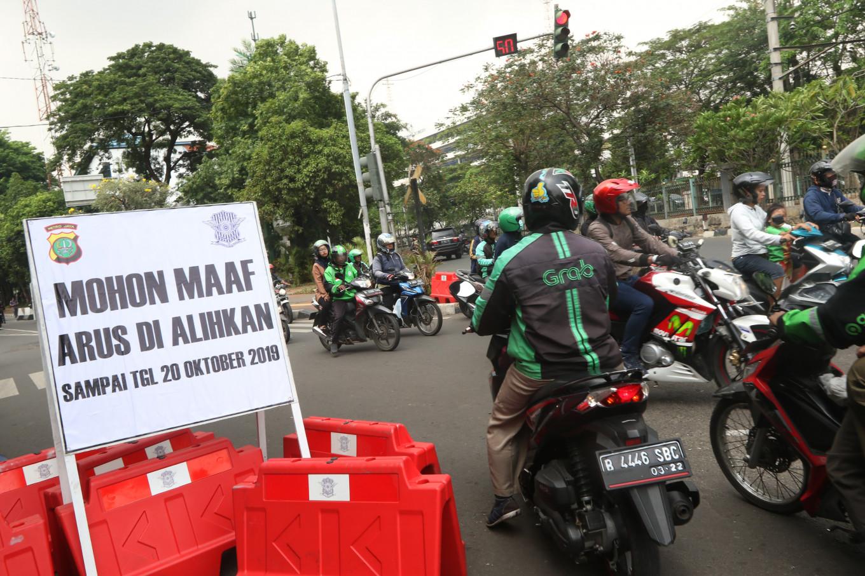 Commuter Line closes Palmerah, Tanah Abang for presidential inauguration