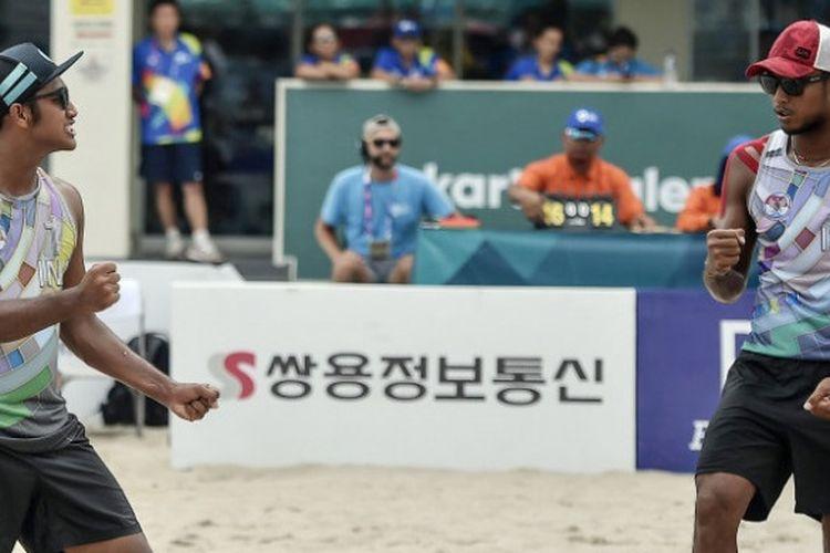 Indonesian men's beach volleyball team wins bronze at World Beach Games