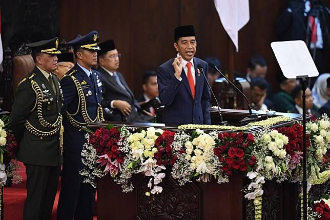 'The main thing is not the process, but the result': Jokowi's full inauguration speech