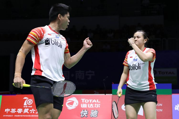 Indonesia's Praven, Melati crowned mixed doubles champions at Denmark Open