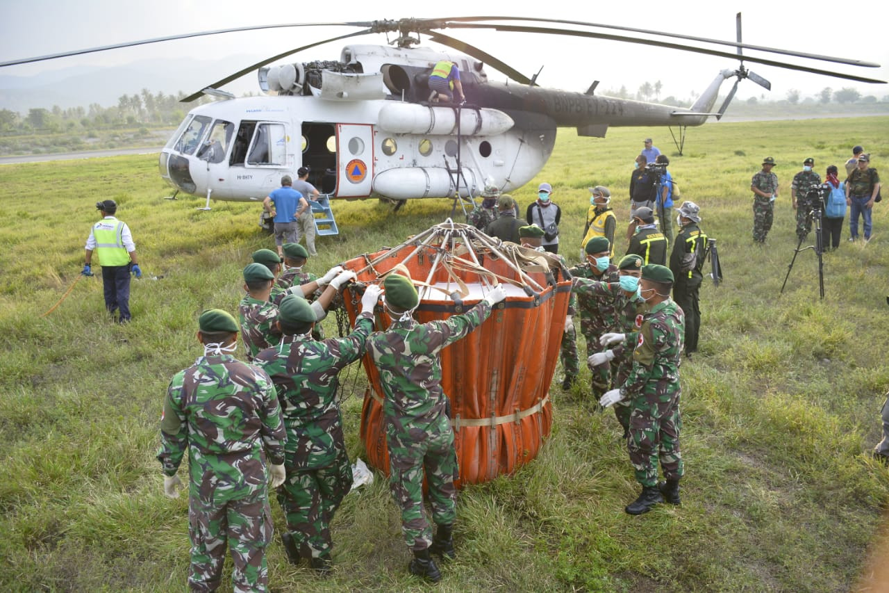 Bolstering TNI readiness, cooperation for disaster relief