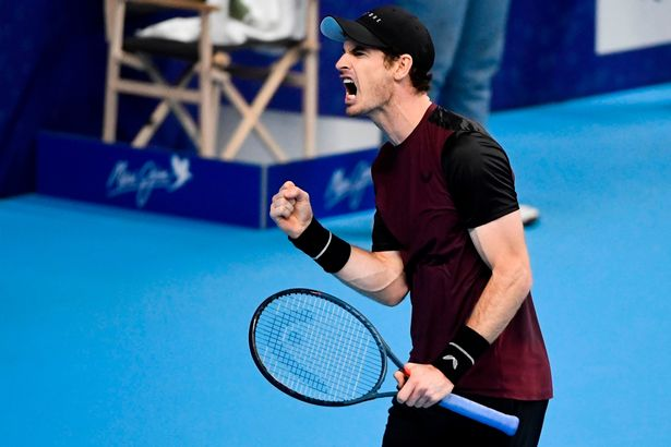 'Very proud' Murray wins first ATP title since March 2017