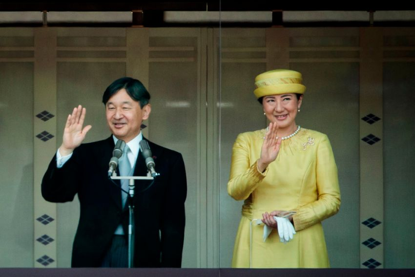 Japanese emperor begins ceremonies to proclaim his enthronement to the world