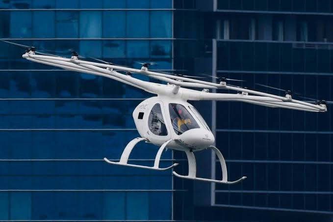 Drone-like taxi whizzes over Singapore, firm eyes Asian push
