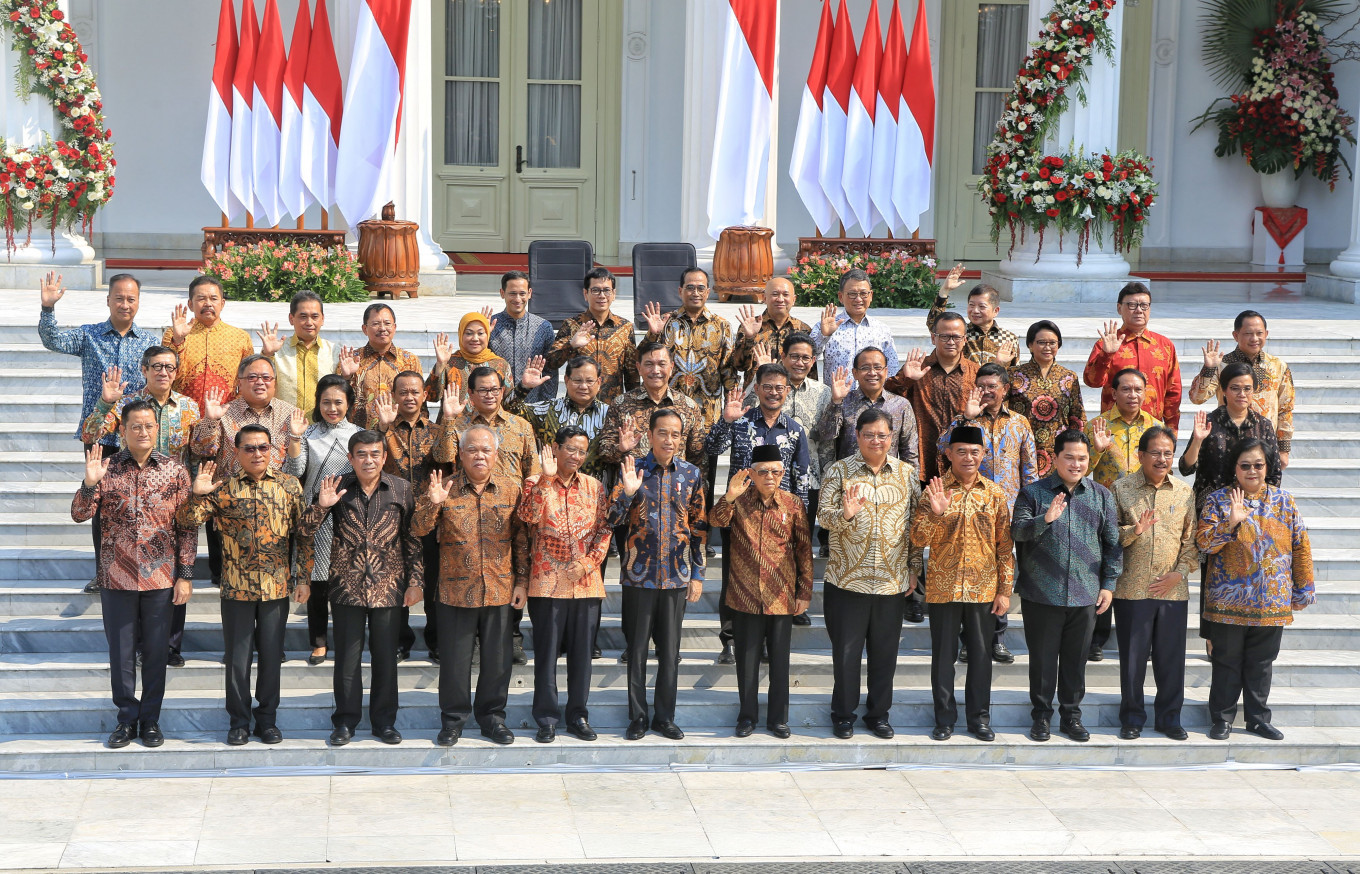 BREAKING: Jokowi announces his new Cabinet. Here's the line up
