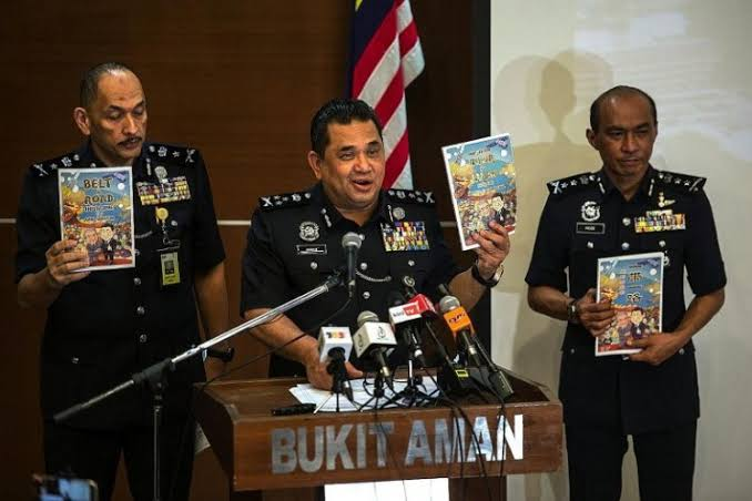 Malaysia's Home Ministry to seize pro-China comic book