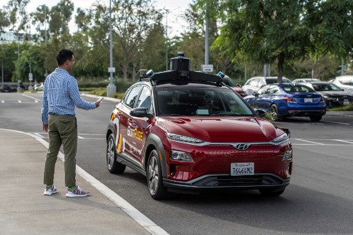 Hyundai to test self-driving car service in California
