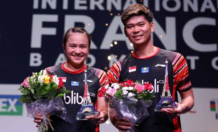 Indonesian doubles' pair Kevin/Marcus, Praveen/Melati add French Open golds to victory bags