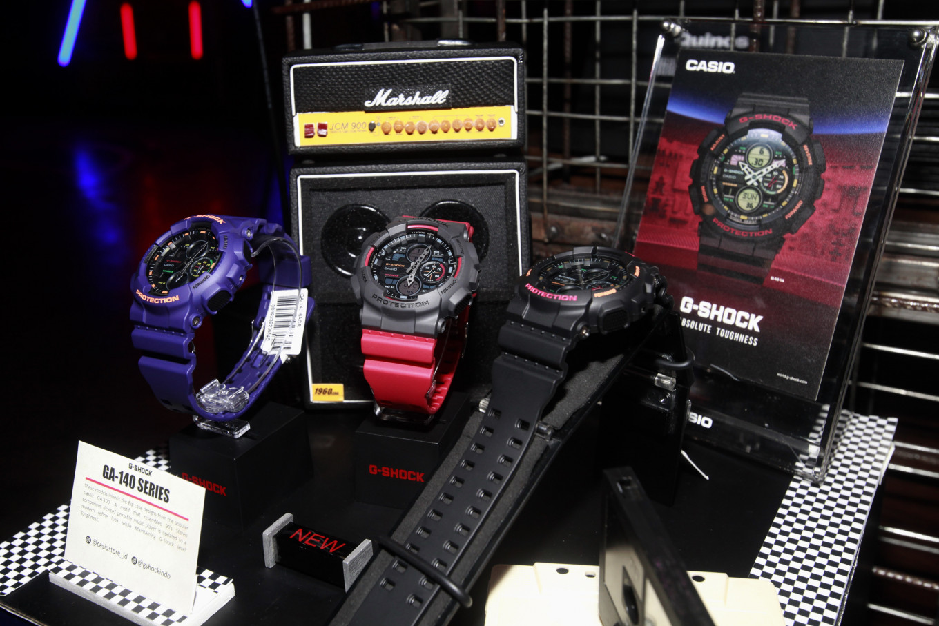 Casio returns to 1990s with G-Shock GA-140