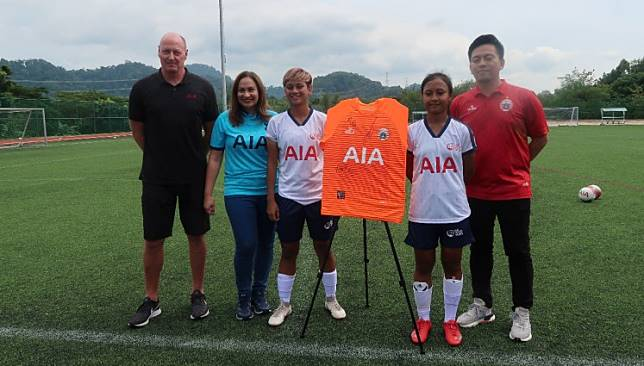 AIA supports Persija's women soccer by bringing team to Phuket training camp