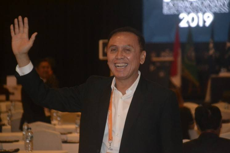 Amid soccer match-fixing scandal, first police general elected PSSI chief