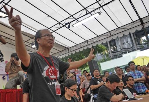 Singaporean activist leads anti-immigration rally as vote looms