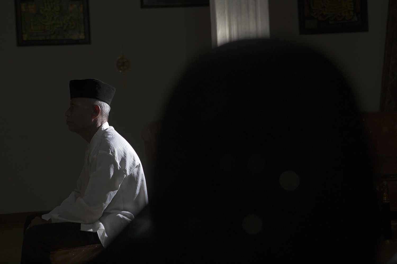 When he's not teaching silat, Imam spends evenings in silence to train his senses. JP/Ramadhani