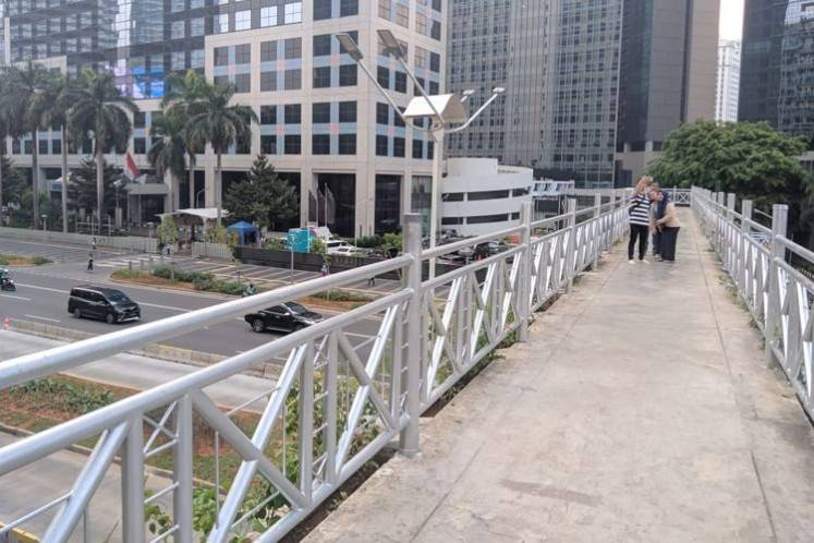 After 'Instagrammable' bridges, now come roofless bridge on Jl. Sudirman