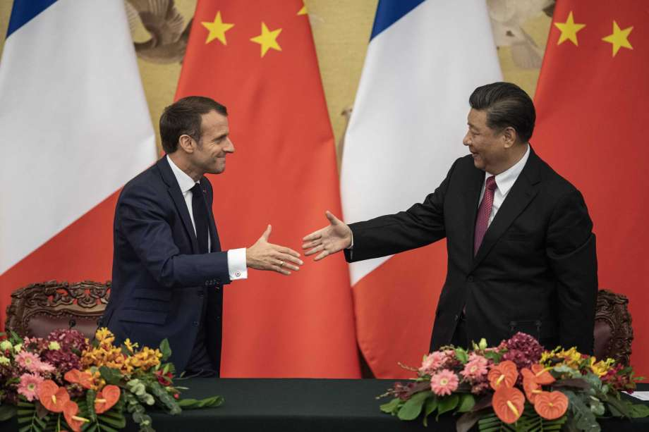 Xi, Macron unite on climate after US withdraws from Paris pact