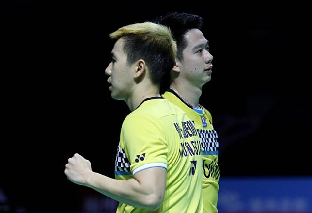 Kevin, Marcus secure gold at China Open