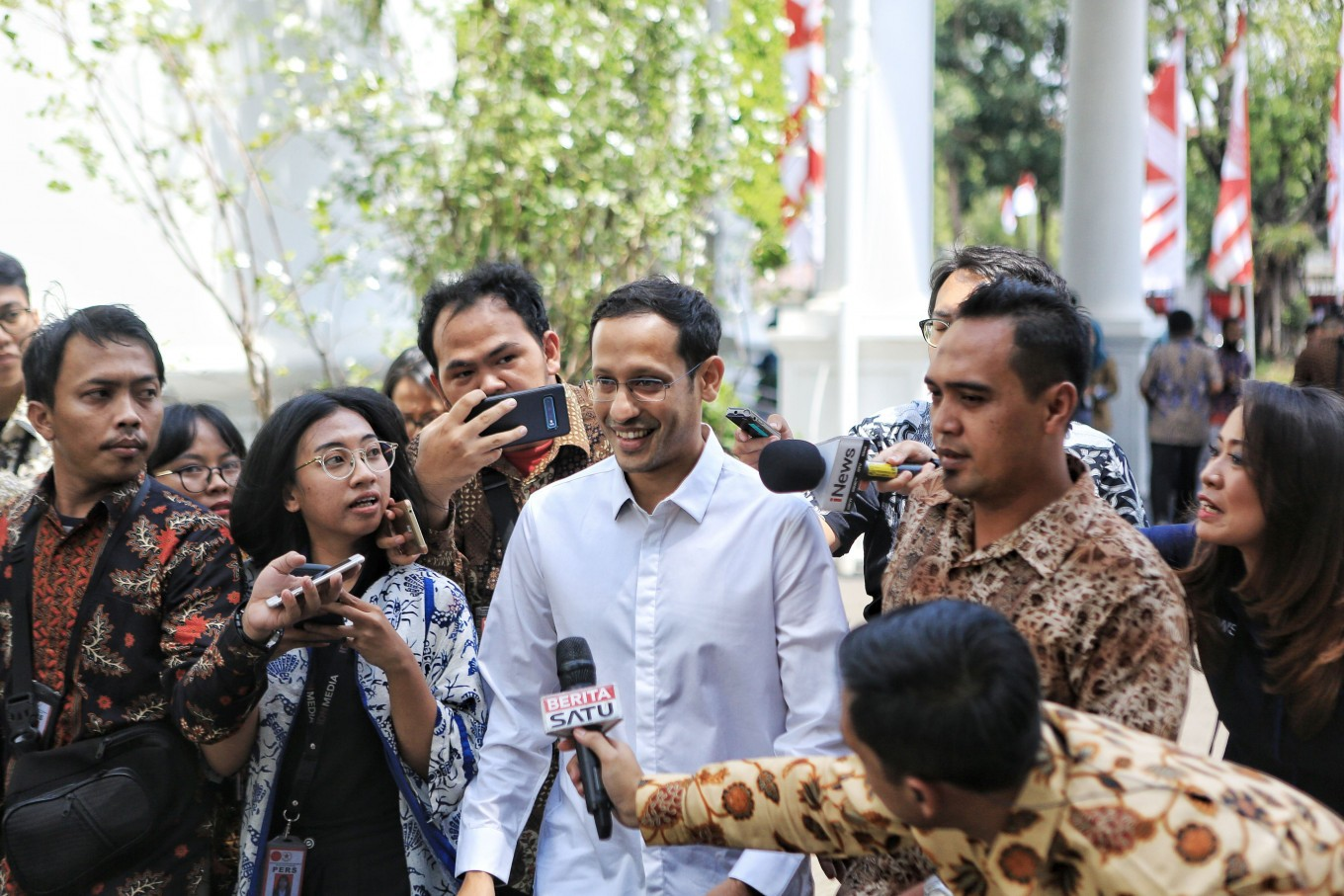 Nadiem wants Pancasila education to connect with real-life experiences