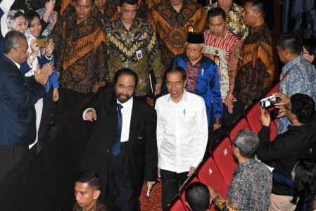 Camaraderie conceals tensions between PDI-P, NasDem: analysts
