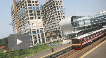 Bright future ahead for commuter line